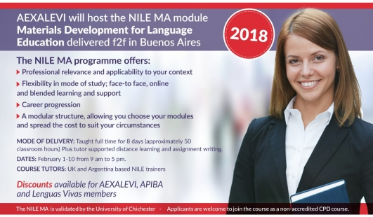 Aexalevi will host the NILE MA module