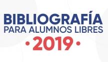 Bibliografía 2019