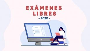 Comunicado: Exámenes Libres 2020