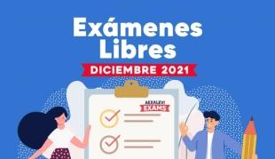 AEXALEVI Exámenes Libres Diciembre 2021