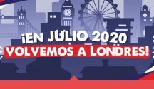 ¡En Julio 2020 volvemos a Londres!